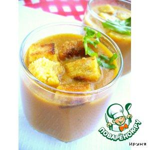 Рецепт: Острый морковный суп-пюре