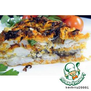 Рецепт: Рыбный пирог Монастырский