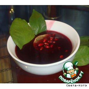 Рецепт: Гранатовый соус