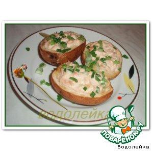 Рецепт: Картофель с тунцом