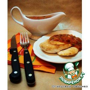 Рецепт: Острый соус «Oignons & Cornichons»