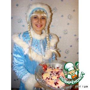 """Рецепт: Торт """"Новогодняя сказка"""""""