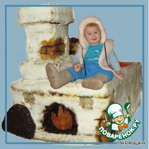 """Рецепт: Торт """"Печка для Емели"""""""