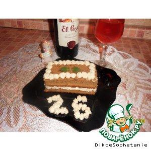 """Рецепт: Кофейное пирожное """"А мне 26 !!!!"""""""