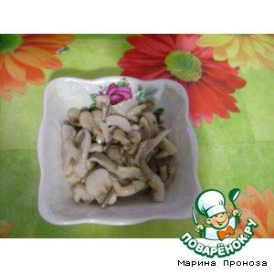 Рецепт: Маринованные грибы вешенки Домашние