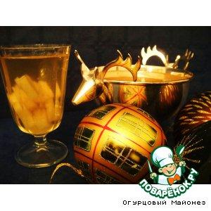 Рецепт: Крюшон с ананасами