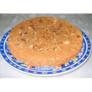 Рецепт: Вафельный торт