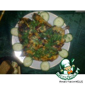 Рецепт: Курица с имбирем