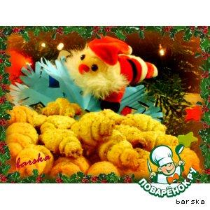 Рецепт: Рогалики рождественские