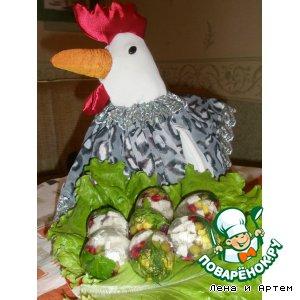 Рецепт: Яйца Фаберже