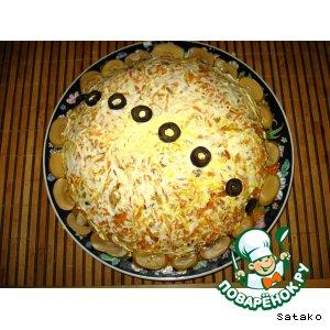 Рецепт: Салат Лисья шубка