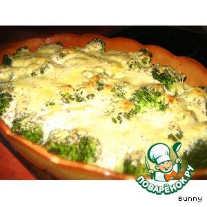 Рецепт: Рыбно-овощная запеканка
