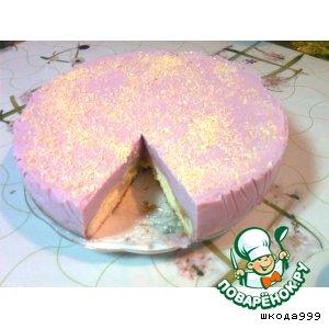 Рецепт: Яблочно-сливочный торт