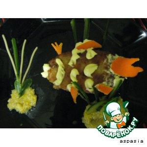 """Рецепт: Котлетки  рыбные """"Емелино счастье"""""""