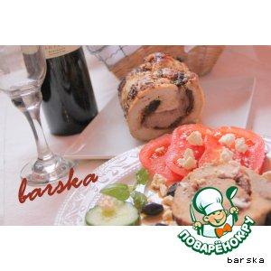 "Рецепт: Запечeное мясо ""Mediterano"""