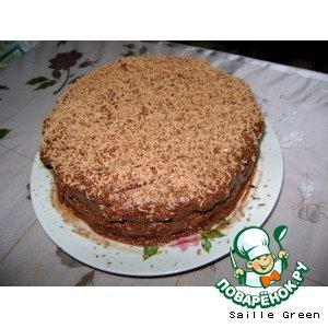 Рецепт: Торт На мамин день рождения