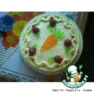 "Рецепт Торт ""Морковка для Кролика"""