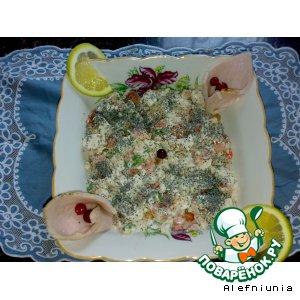 Рецепт: Курица с помидорами и маком