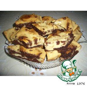 """Рецепт: Пирожное """"Буренка"""""""