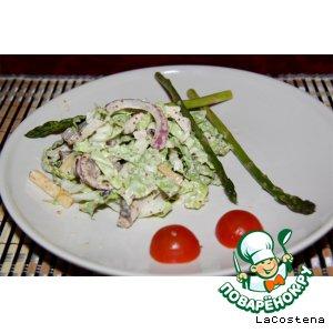 Рецепт: Теплый зимний салат