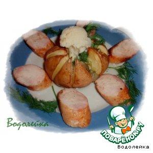 Рецепт: Запеченый картофель