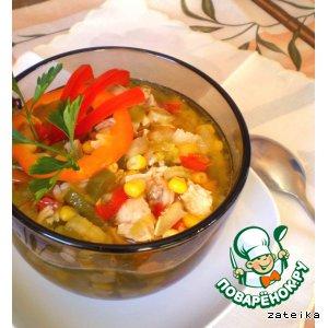 Рецепт: Куриный айнтопф с кукурузой