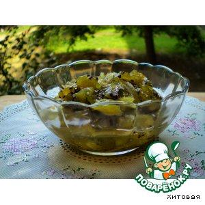 Рецепт: Конфитюр из киви с лаймом