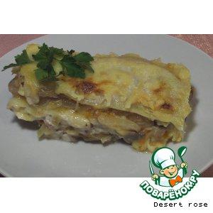 Рецепт: Лазанья  «Sole Mio»