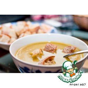 Рецепт: Суп-пюре из цуккини и карри