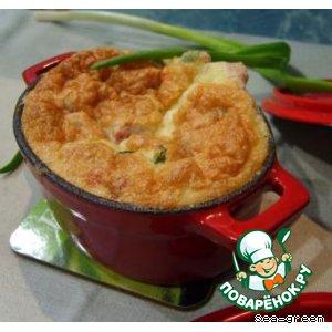 Рецепт: Суфле из ветчины