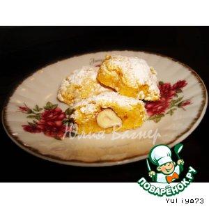 Рецепт: Миндальное печенье с сюрпризом