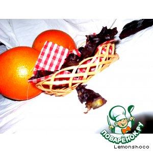 Рецепт Шоколадно-апельсиновые конфеты