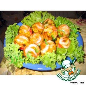 Рецепт: Заливное Морские яйца