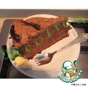 Рецепт: Торт Шоколад