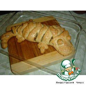 Рецепт: Пирог Крокодильчик