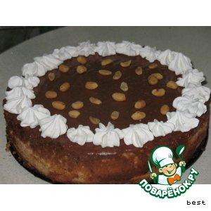 Рецепт: Абрикосово-шоколадная Нежность