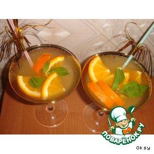 Рецепт: Цитрусово-мятный коктейль