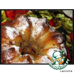 Рецепт: Сливовый кекс с ароматом Айриш крим