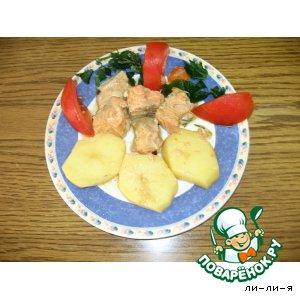 Рецепт: Рыба с картофелем