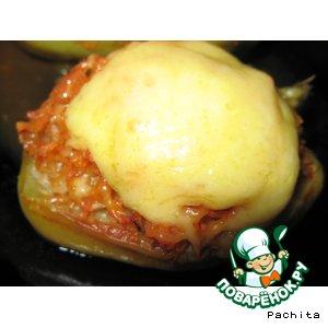 Рецепт: Фаршированный перец с изюмом