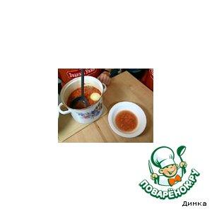 Рецепт: Суп из топора