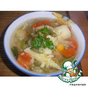 Рецепт: Суп Овощное лето