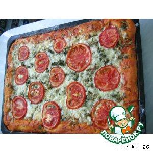 Рецепт: Вкусно - пицца