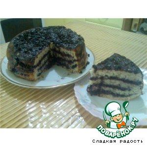 Рецепт Пирог с черникой