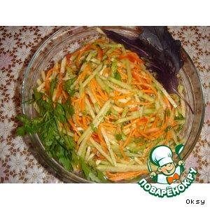 Рецепт: Салат из редьки
