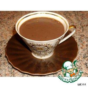 Рецепт: Горячий шоколад