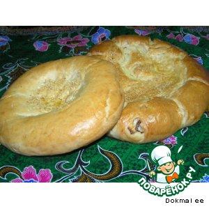 Рецепт: Лепешки узбекские