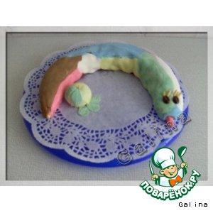 Рецепт: Торт «Веселый Змей»