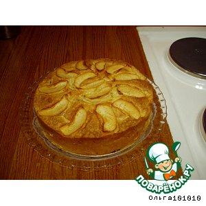 Рецепт: Яблочно-коричный пирог
