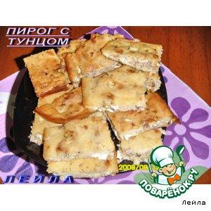 Рецепт: Пирог с тунцом